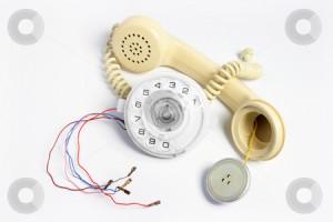 Telefon stricat